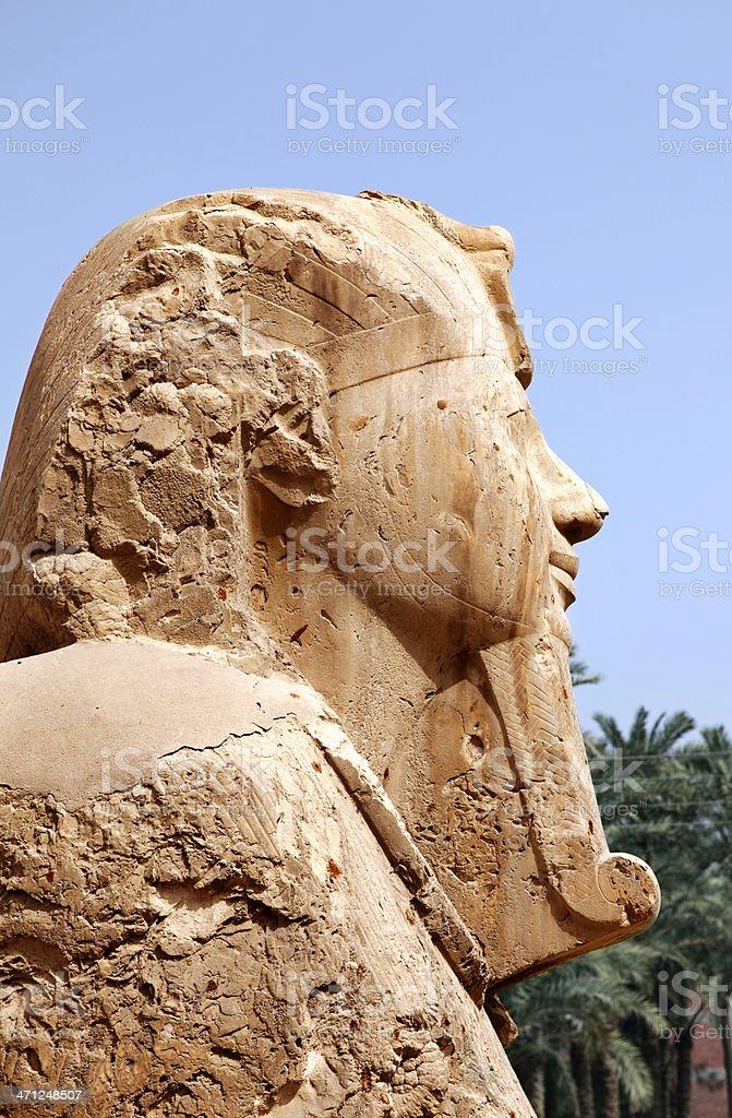 Alabaster Sphinx royalty-free stock photo