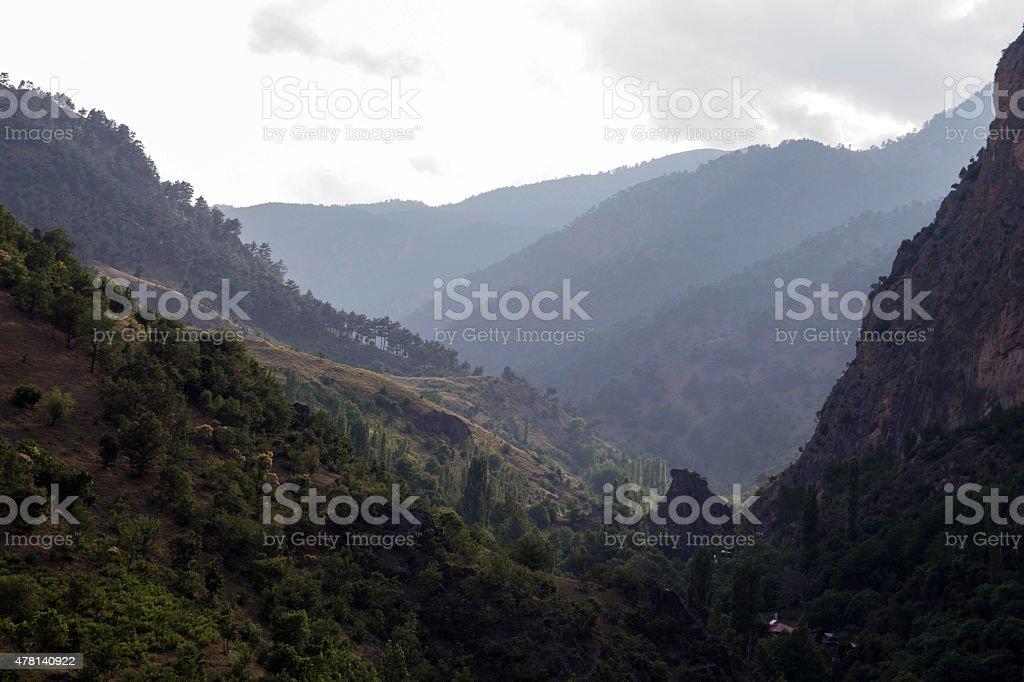 Aladağlar National Park Turkey stock photo
