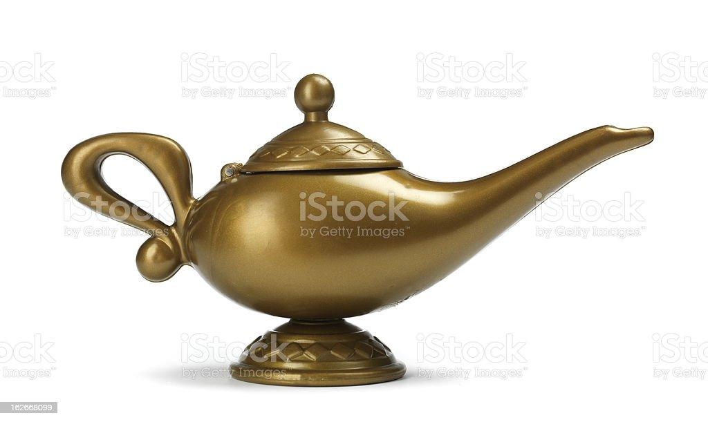 Aladdin lamp royalty-free stock photo