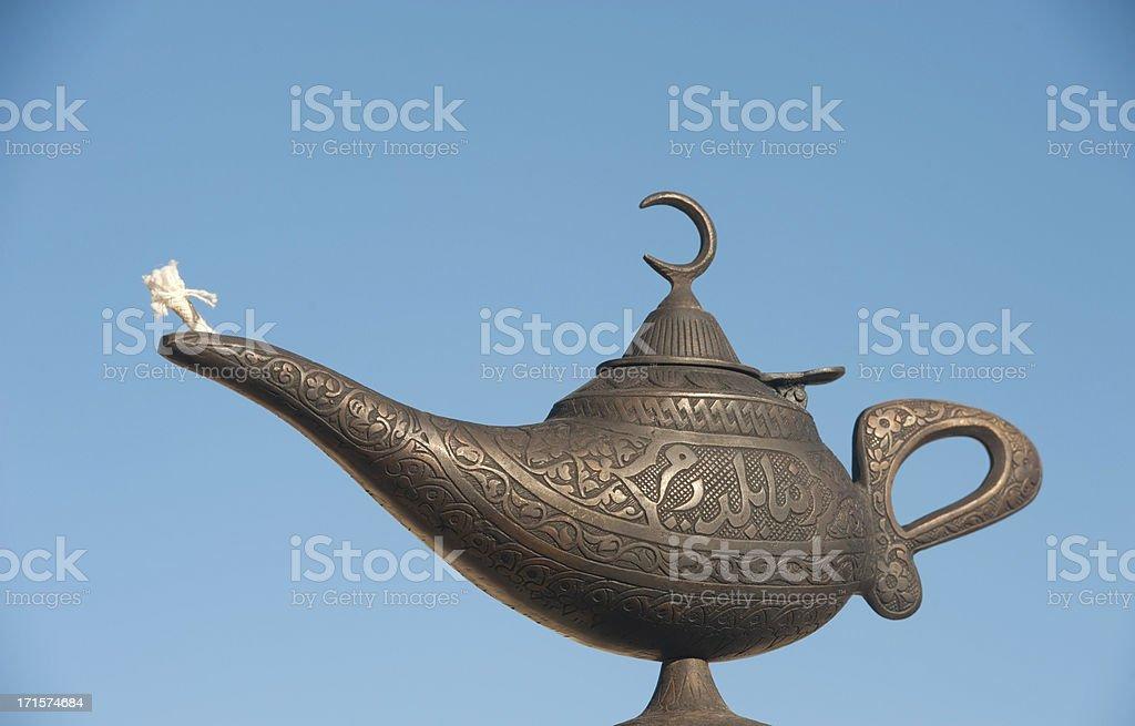 Aladdin Lamp stock photo