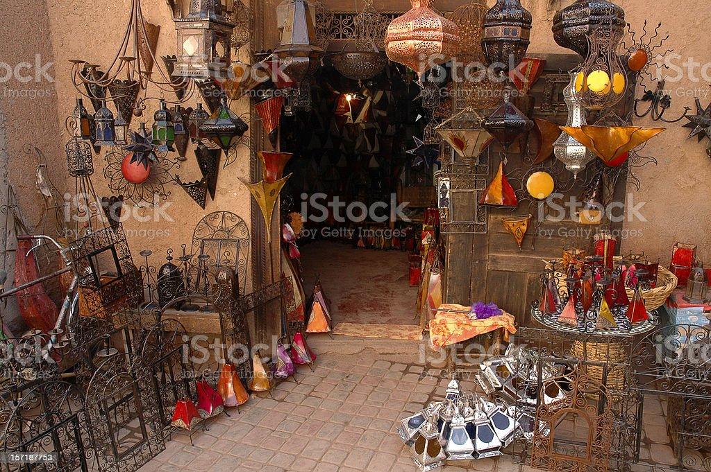 Aladdin's cave ! stock photo