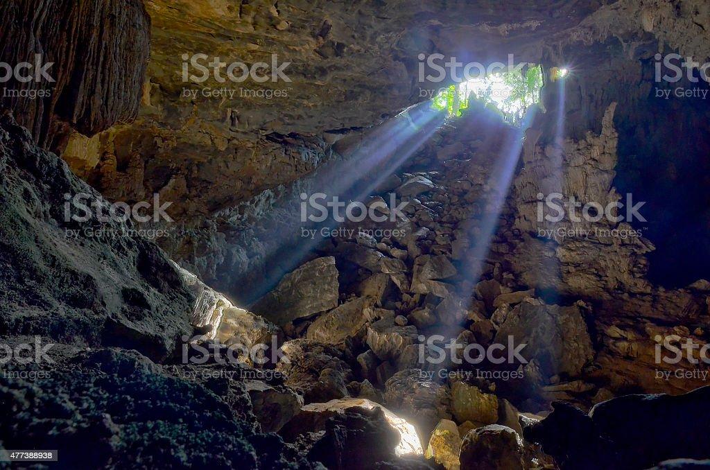 Alambari de baixo Cave stock photo