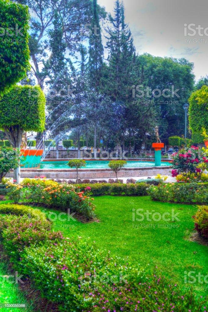 Alameda Vasco de Quiroga - foto de stock