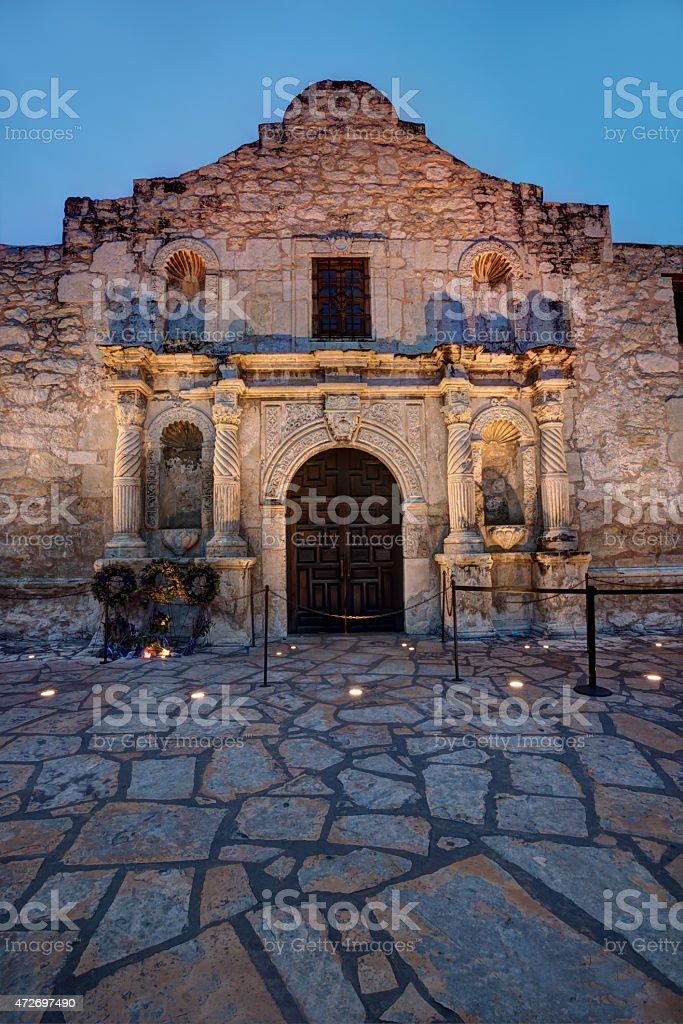Alamo HDR stock photo