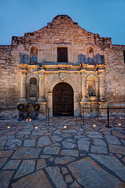 alamo hdr - the alamo stock photos and pictures