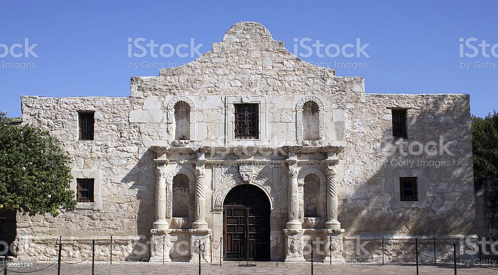 Alamo in San Antonio stock photo