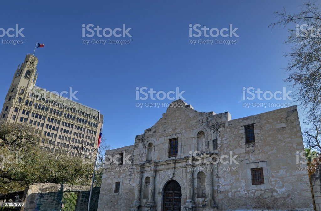 Alamo in San Antonio Texas photo libre de droits