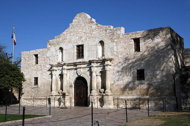 Alamo in San Antonio, Texas stock photo