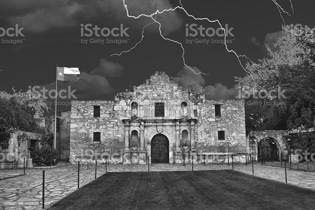 Alamo in San Antonio,Texas stock photo