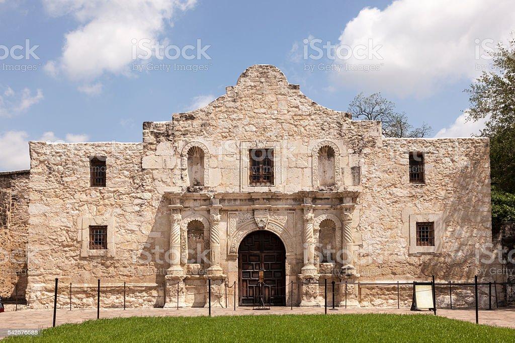 Alamo Mission in San Antonio, Texas stock photo