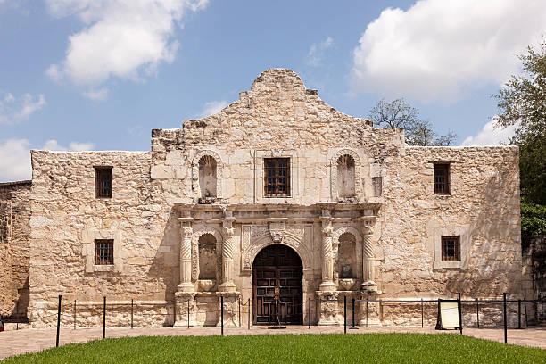 alamo mission in san antonio, texas - the alamo stock photos and pictures