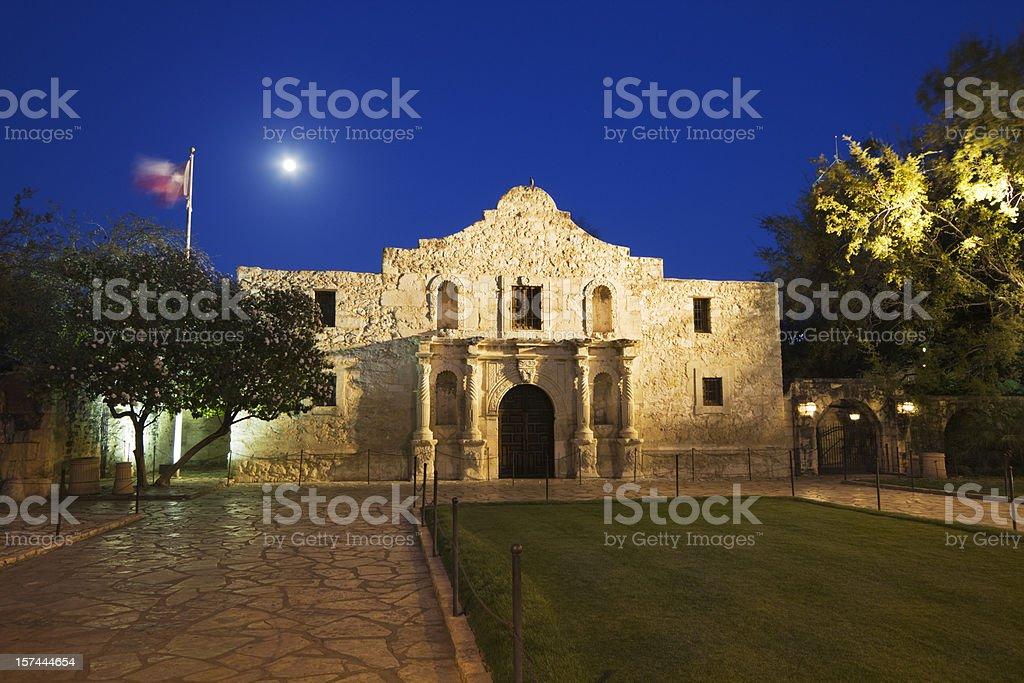 Alamo Mission, San Antonio, a Famous Historic Building in Texas stock photo