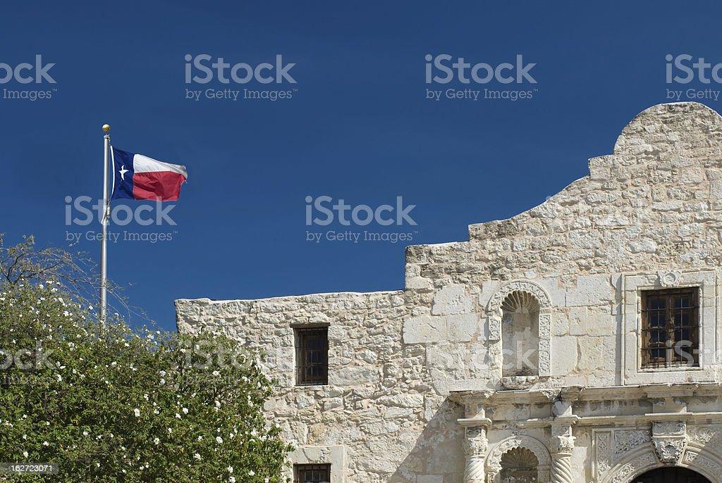 Alamo San Antonio Texas stock photo