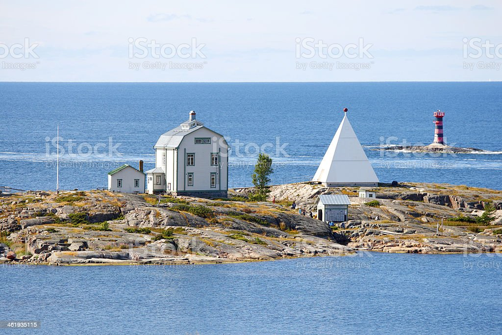 Aland Islands archipelago, Kobba Klintar stock photo