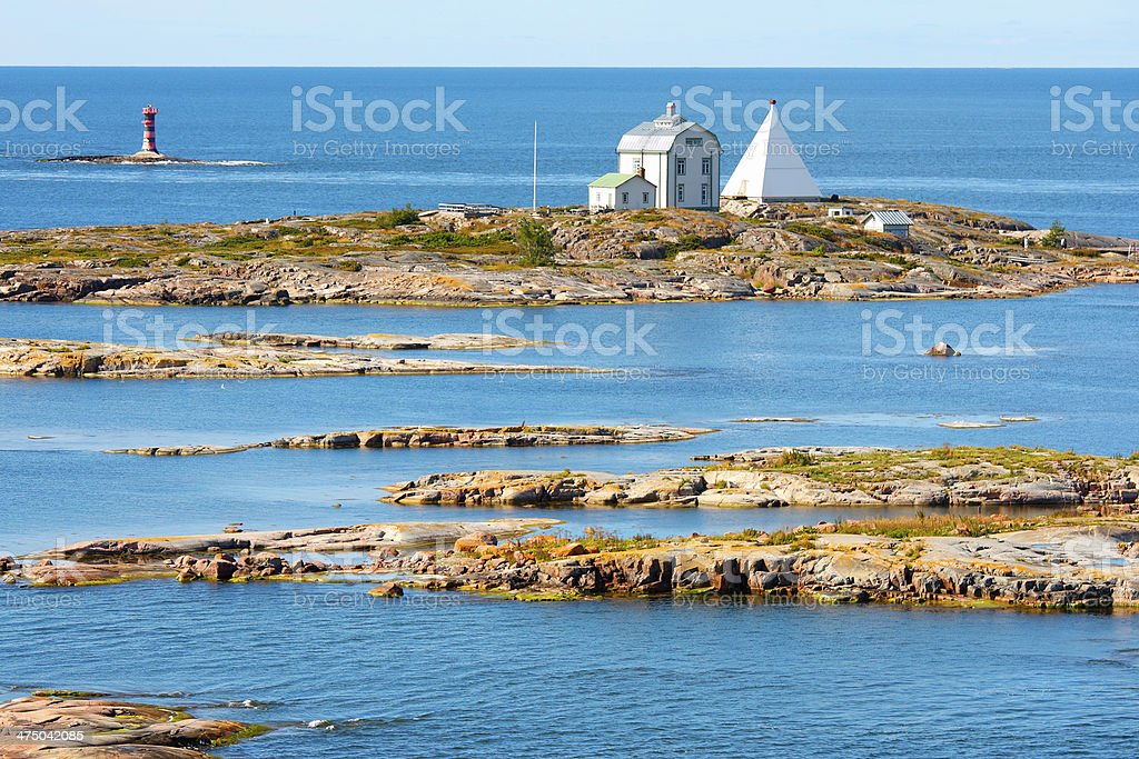 Aland Islands, Kobba Klintar stock photo