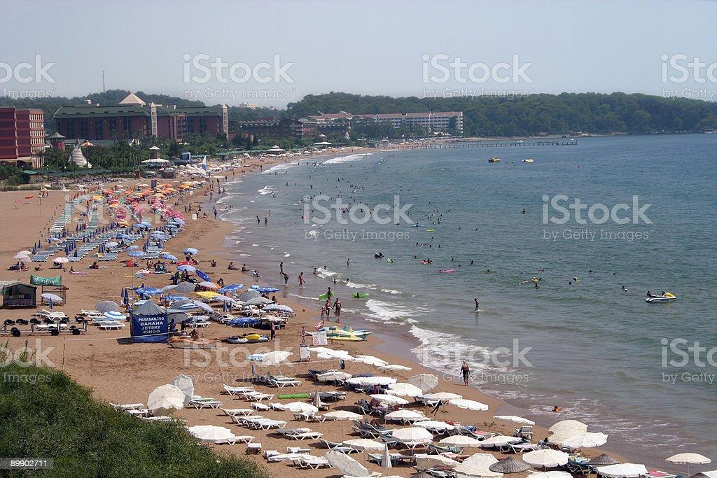 Alanya Beach Holiday royalty-free stock photo
