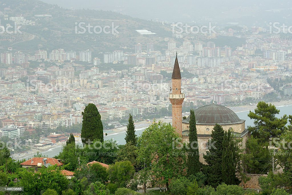 Alanya landscape, Turkey. With clipping paths stock photo