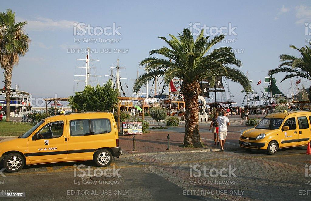 Alanya streets royalty-free stock photo