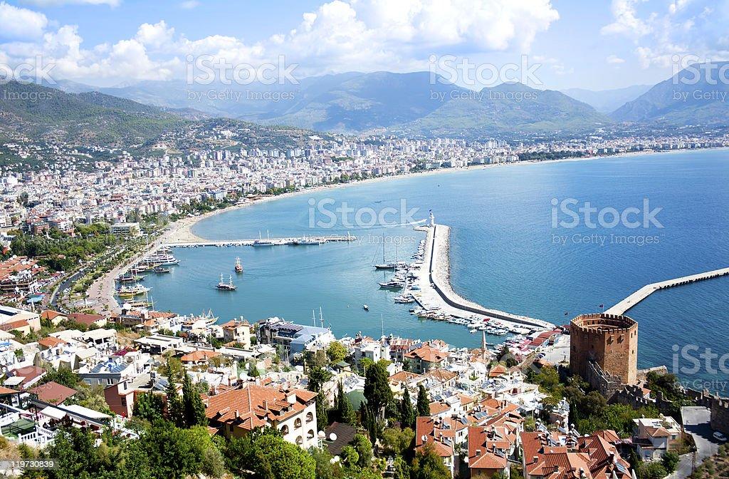Alanya, Turkey stock photo