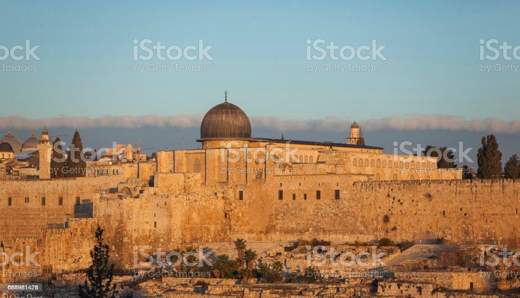 Al-Aqsa Mosqua stock photo