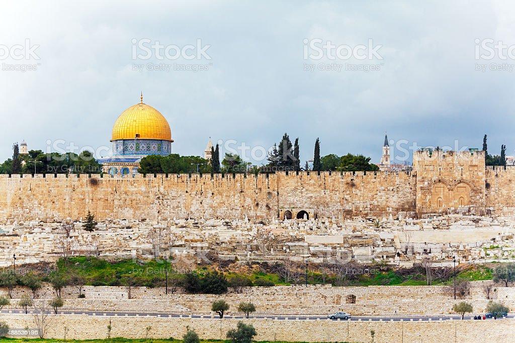 Al-Aqsa Mosque, Jerusalem, Israel stock photo