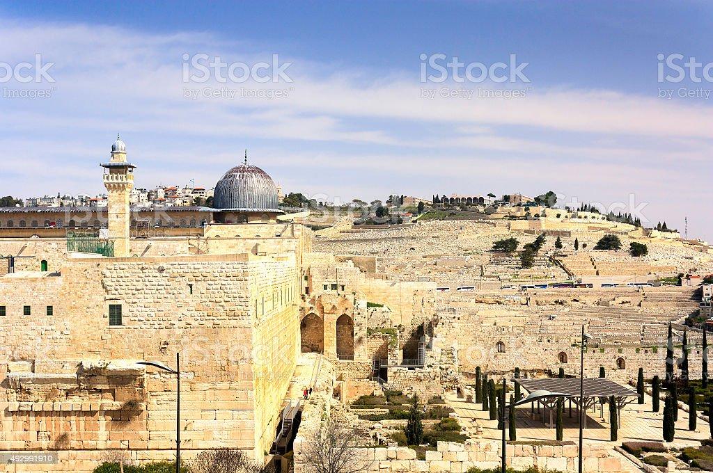 Al-Aqsa Mosque - Jerusalem Old City stock photo