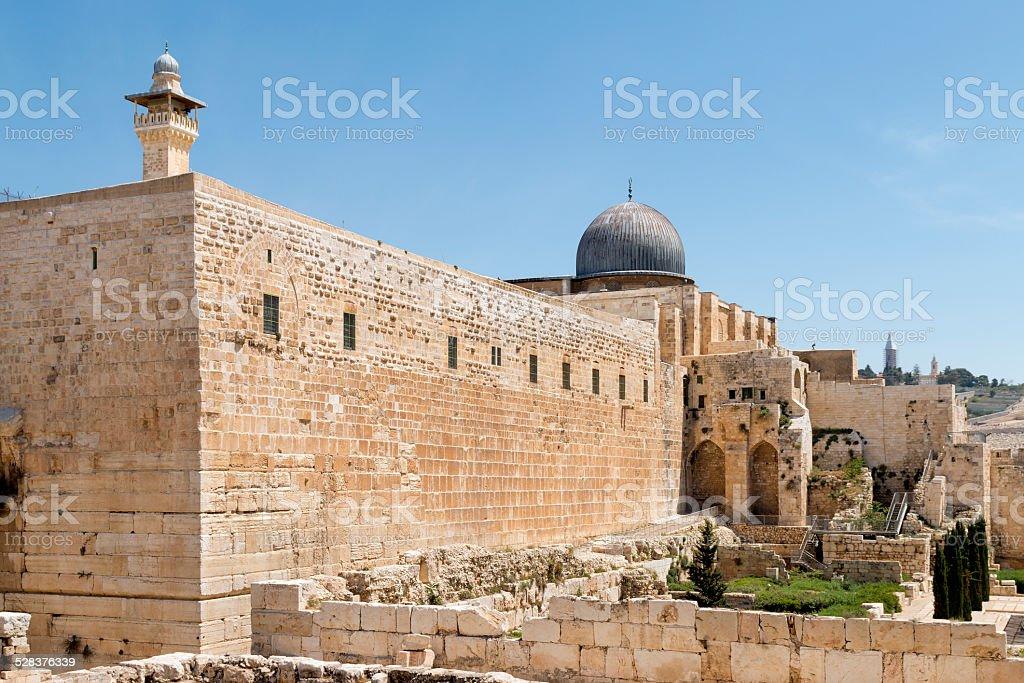 Al-Aqsa Mosque -Jerusalem stock photo