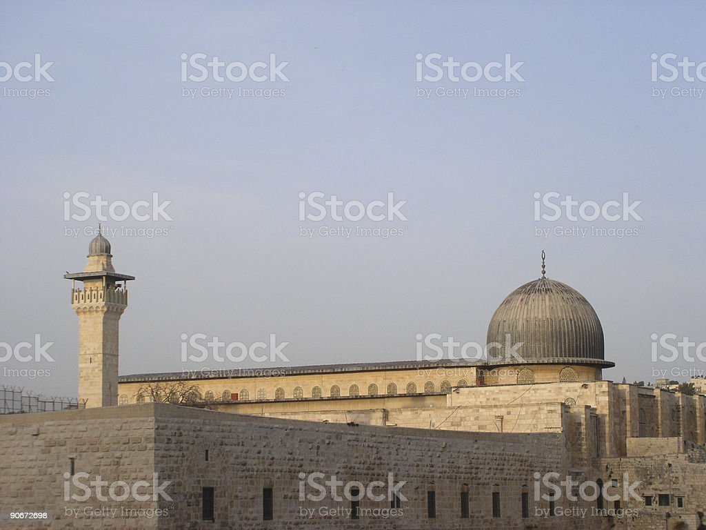 Al-Aqsa Mosque, Jerusalem royalty-free stock photo