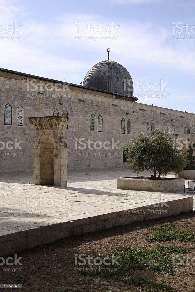 Al-Aqsa Mosque.Jerusalem royalty-free stock photo