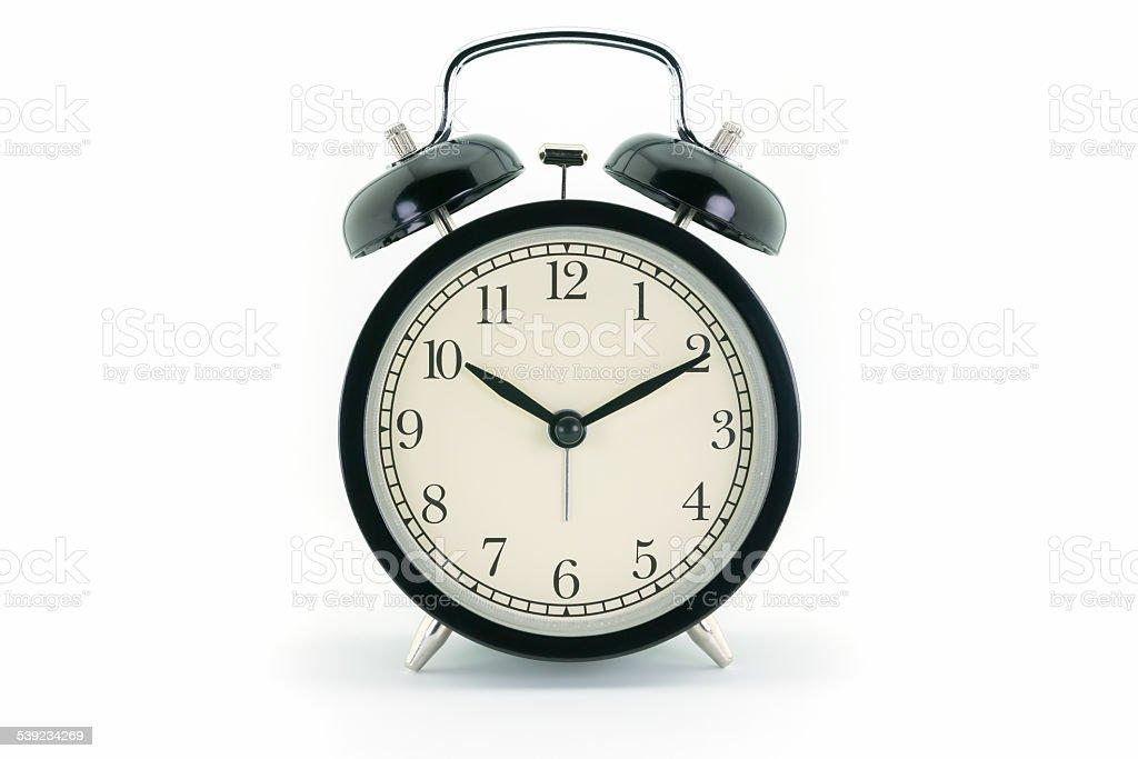 Alarm at 10 o'clock royalty-free stock photo