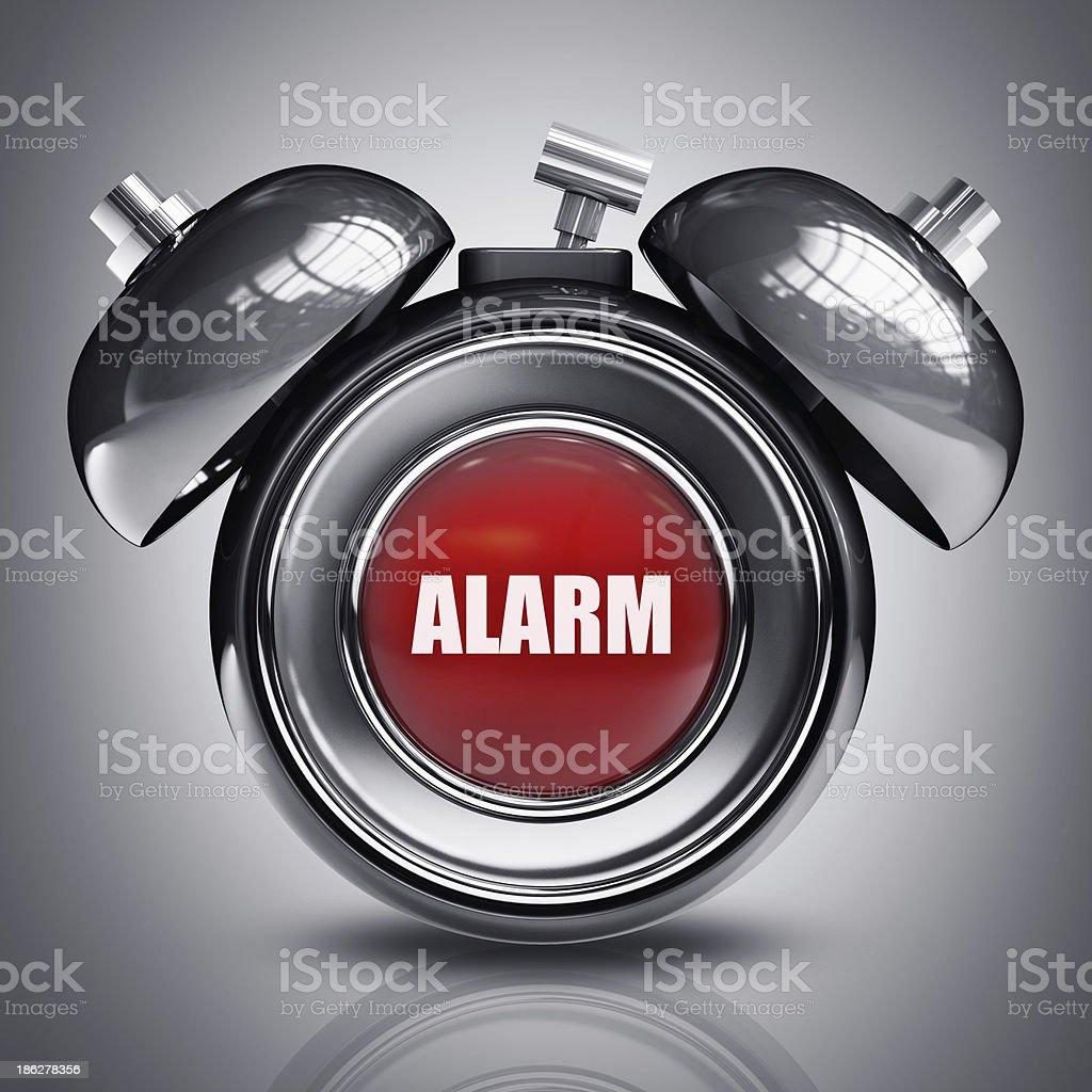 alarm bell royalty-free stock photo