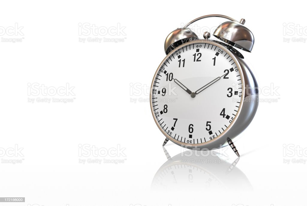 Alarm Clock 002 royalty-free stock photo