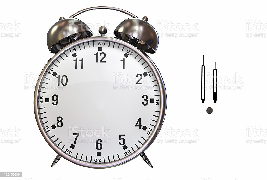 Alarm Clock 003 royalty-free stock photo