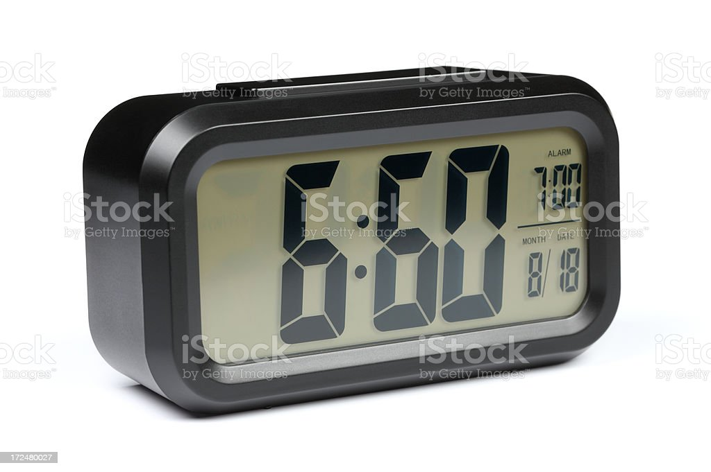 alarm clock error royalty-free stock photo