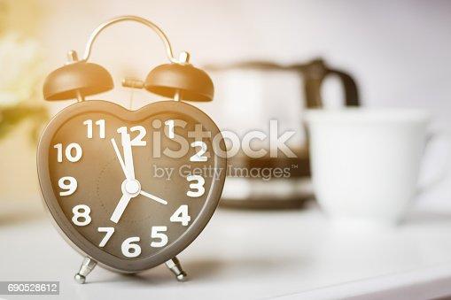 istock Alarm clock in the bedroom 690528612