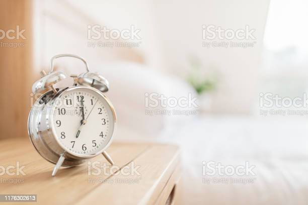 Alarm Clock Morning Wakeup Time Stock Photo - Download Image Now