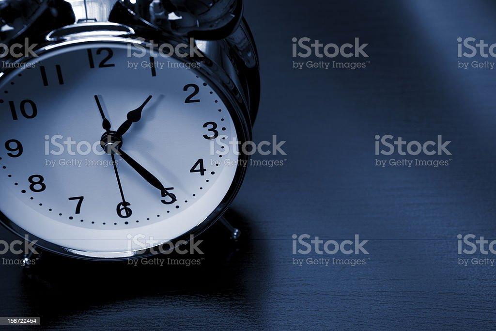 Alarm clock stock photo
