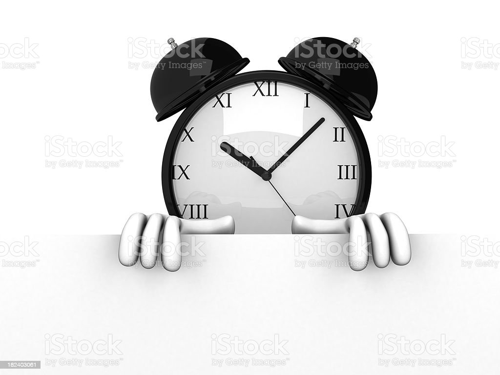 Alarm clock royalty-free stock photo