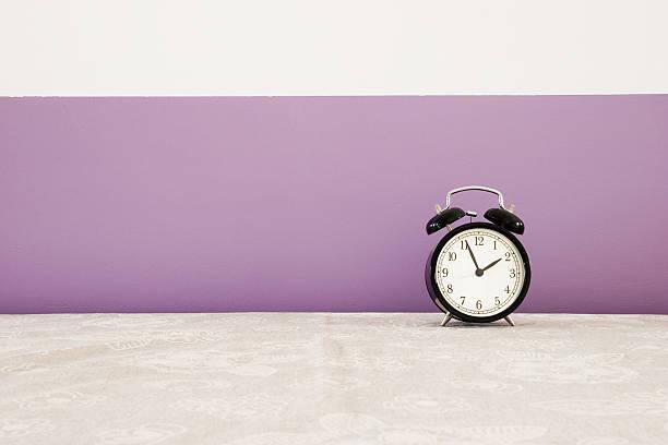 Orologio sveglia - foto stock