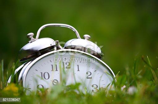 905623256 istock photo Alarm clock 521228047