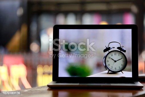 istock Alarm Clock Time Management Concept 1070183126