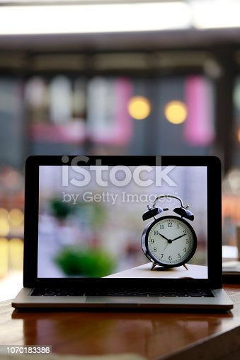 istock Alarm Clock Time Management Concept 1070183386