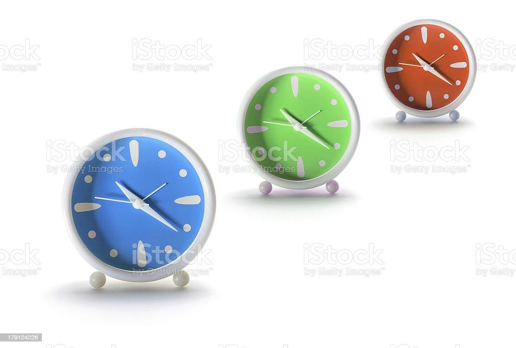 Alarm Clocks royalty-free stock photo