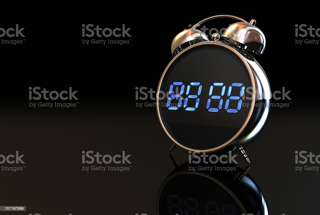 Alarm Digital Clock 001 stock photo