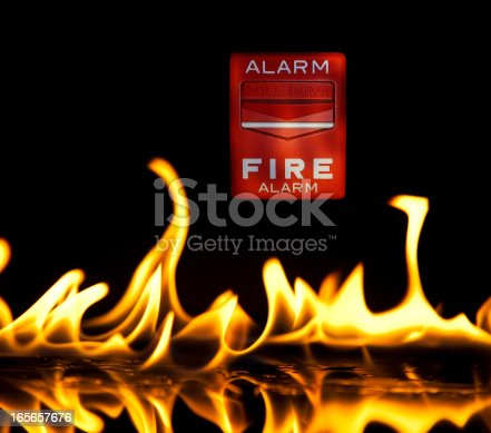 istock Alarm In Flame 165657676