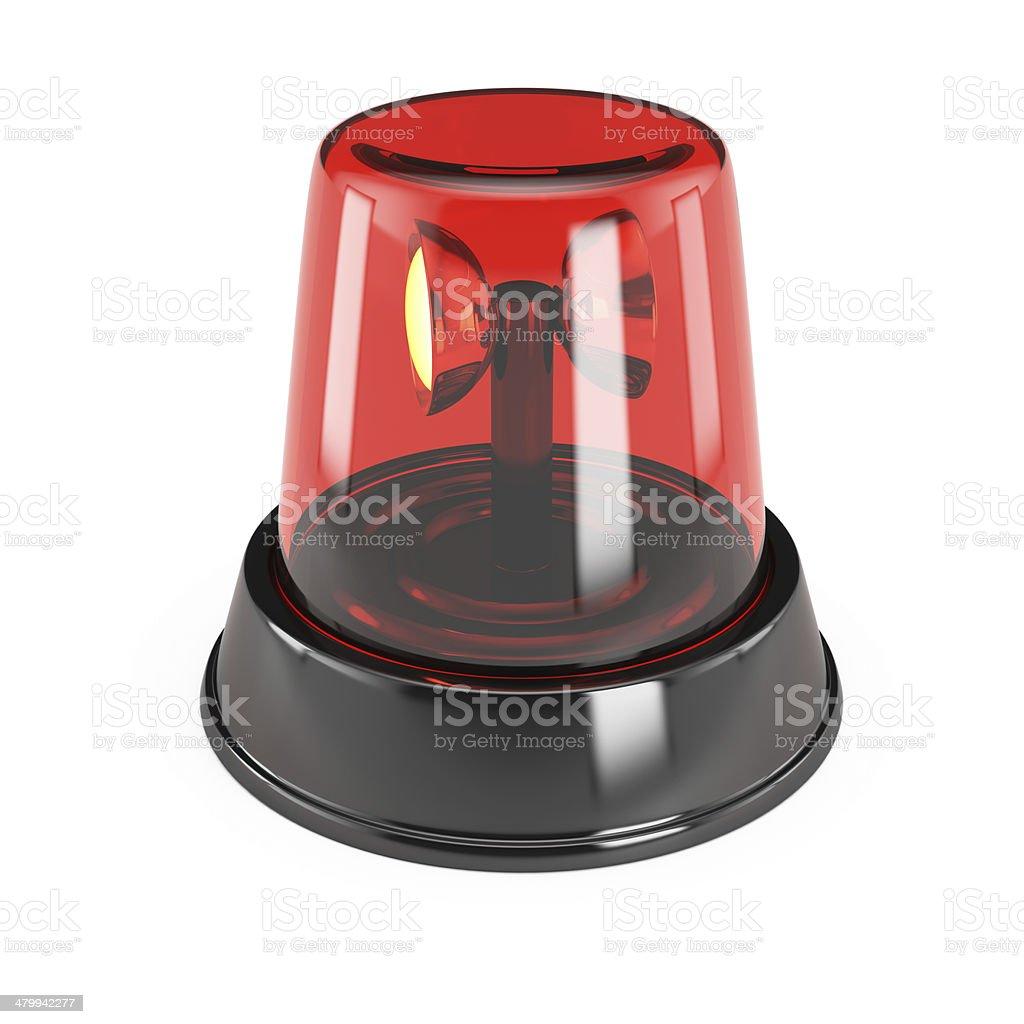 Alarm light stock photo