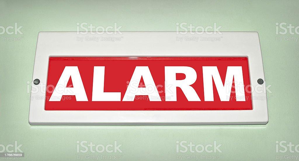 Alarm! royalty-free stock photo