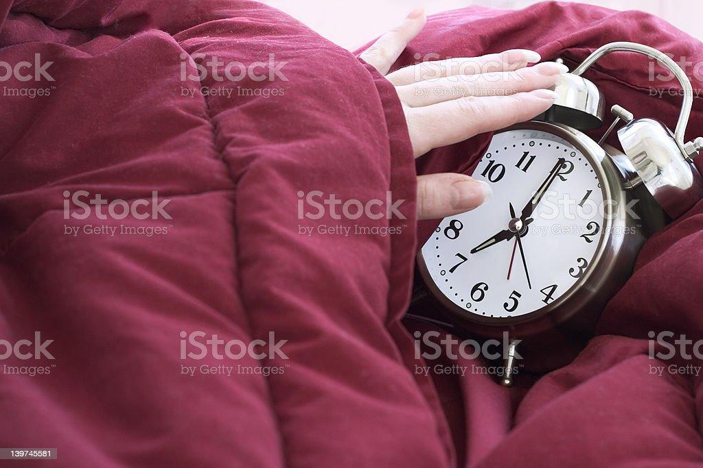 alarmclock :morning call stock photo