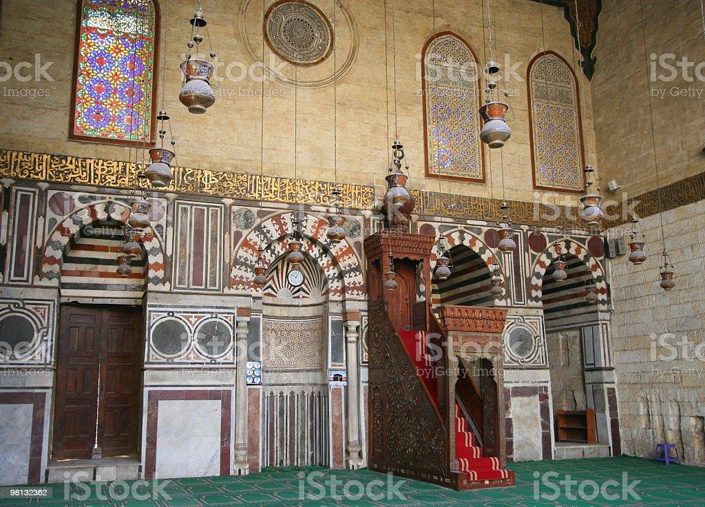 al-Ashraf Berssbay Madrasa royalty-free stock photo