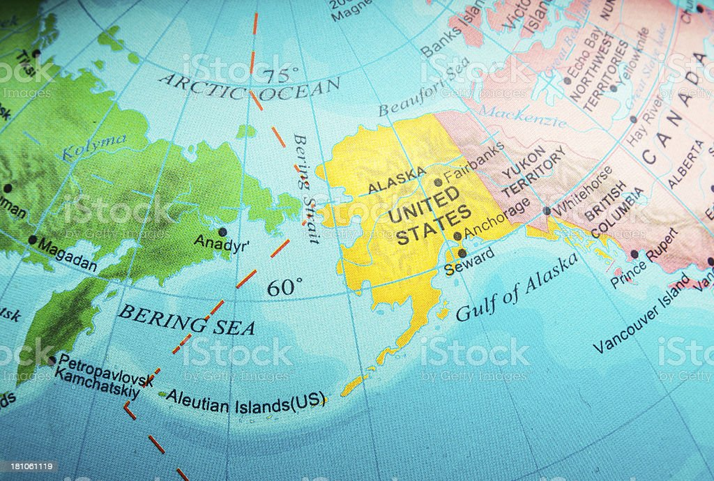Picture of: Alaska And Bering Sea Stock Photo Download Image Now Istock